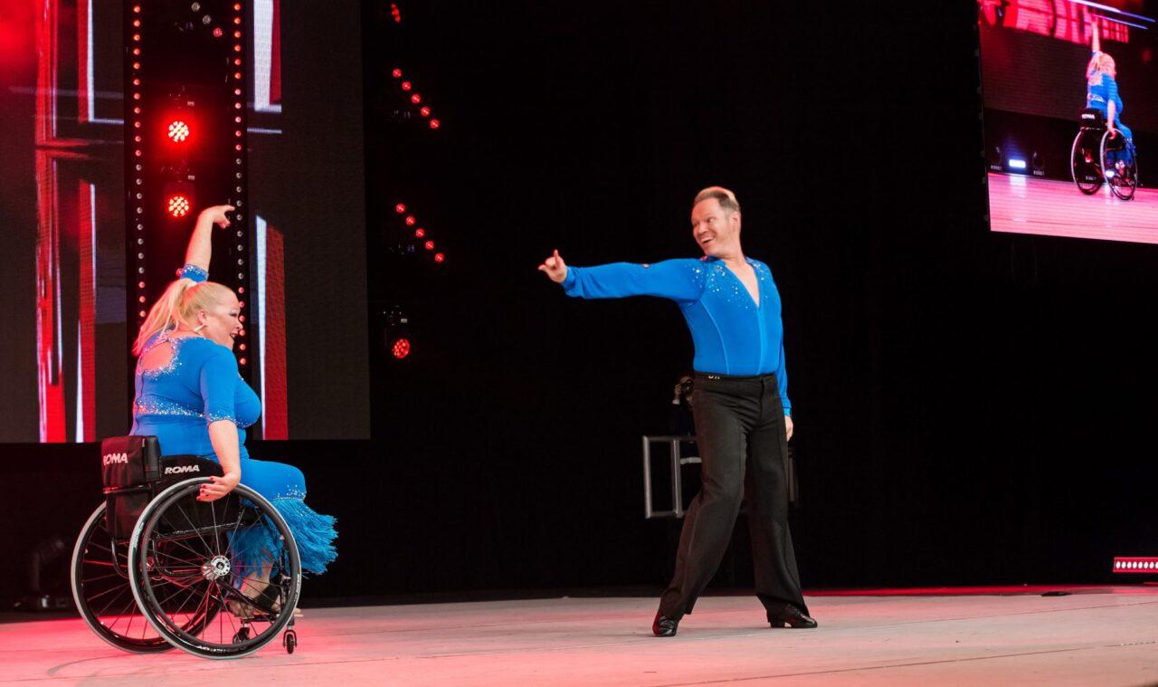 Move It Wheelchair dance jive