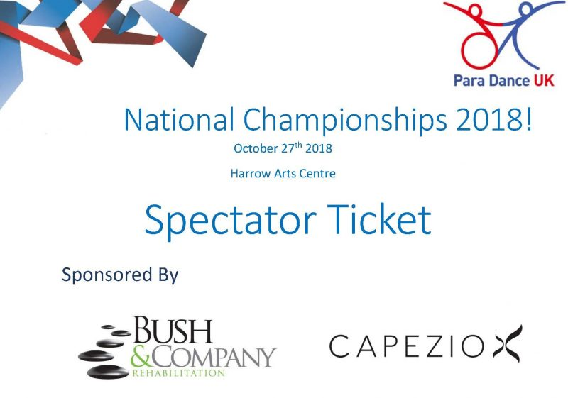 National Championships 2018 Tickets 1