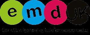 EMDUKCMYK logo with updated strapline
