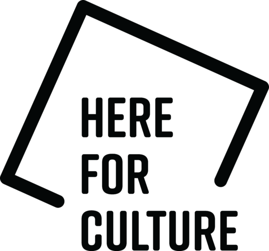 HereForCulture logo Black 537x500 1