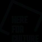 HereForCulture logo Black 537x500 1